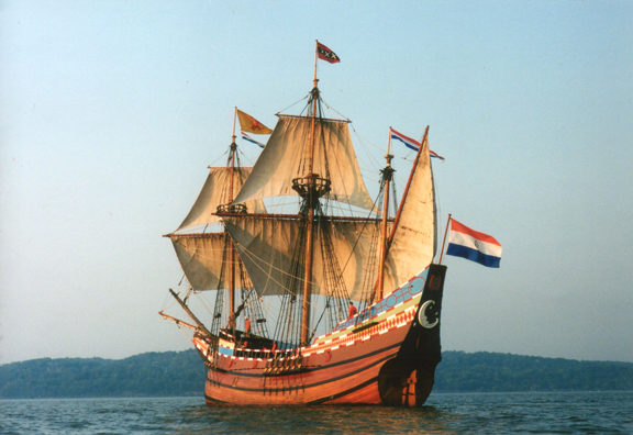What is the half moon and new netherland museum